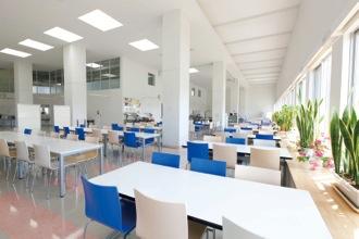 学生寮食堂